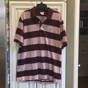 Vintage Washed Lacoste Polo Sz 7